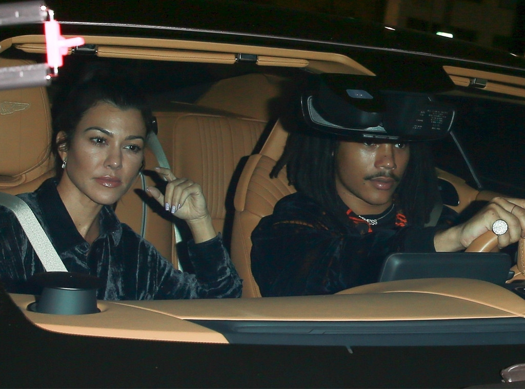 Image result for kourtney kardashian and luka sabbat